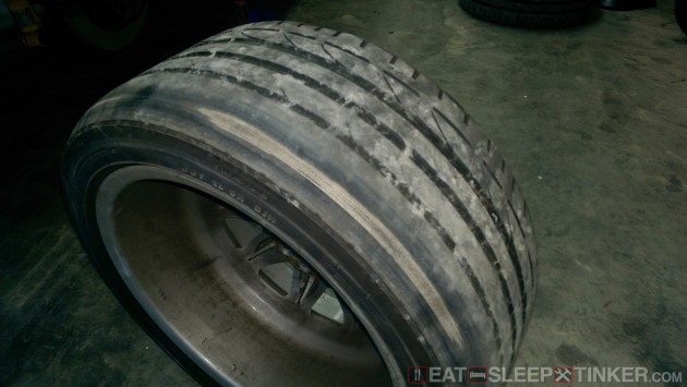 Rear Bridgestone S-04 Corded