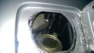 Open Fuel Filler