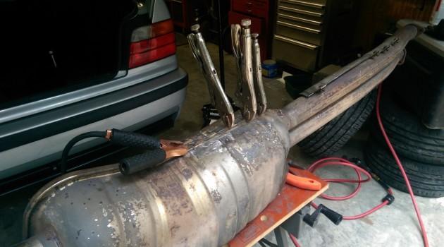 E36 M3 Muffler Repair