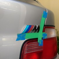 M Coupe ///M Emblem Replacement