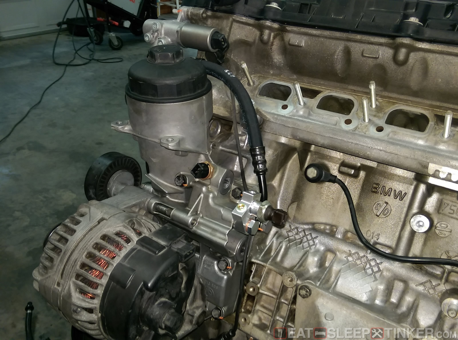 Eat, Sleep, Tinker Spec E46 Build Part VI: Engine - Eat