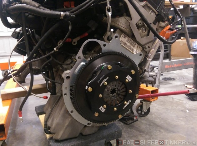 Tilton Flywheel and Clutch
