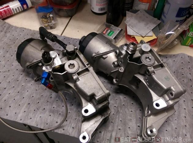 Fs New Genuine Bmw Motorsport M54 Oil Filter Housing