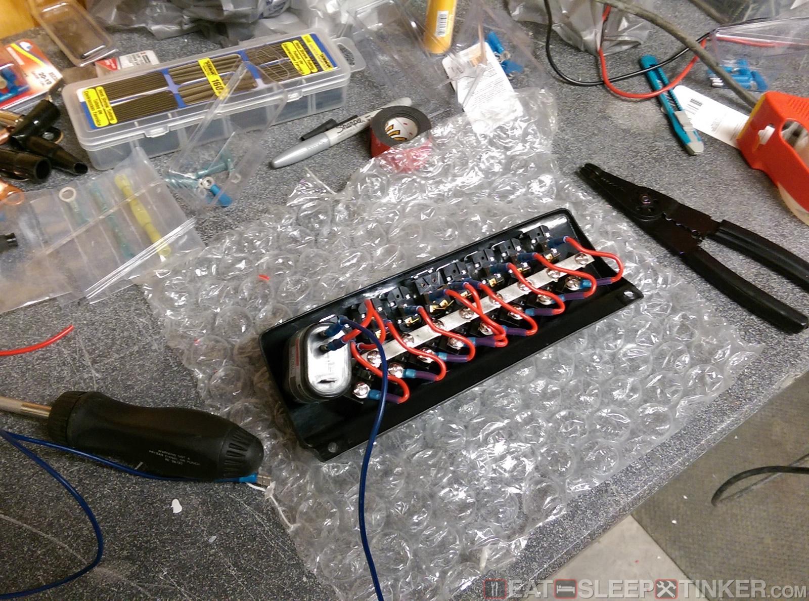 Spec E46 Build Part IX: Electrical - Eat, Sleep, Tinker.Eat, Sleep, Tinker.