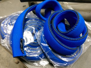 Blue Neoprene Hose Insulation