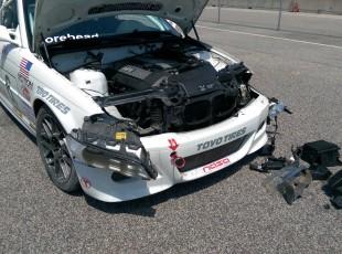 SpecE46 Crash Damage