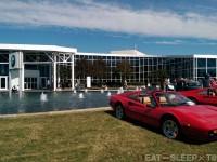 Ferrari in front of BMW Zentrum