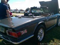 Clean TR6 on Panasport Wheels