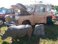 Safari Style Land Rover