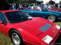 Red Ferrari 365
