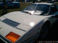 White Ferrari 365