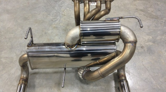 Custom Vibrant and PPE Long Tube Exhaust System