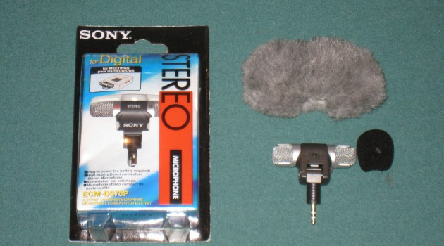 GoPro External Microphone (Sony ECM DS70P) Test