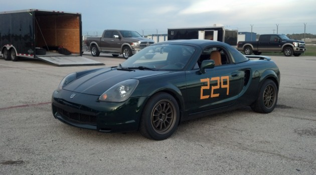 First Track Experience with the MR2 Spyder