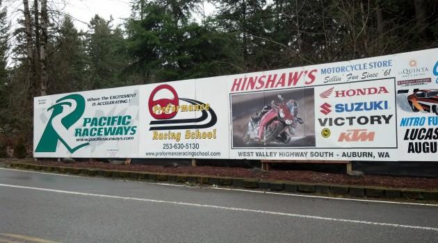 Pacific Raceways in a Rent-a-Racer