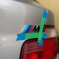 M Coupe ///M Emblem Replacement